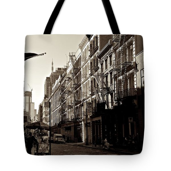 A Slice Of Soho Tote Bag by Eric Tressler