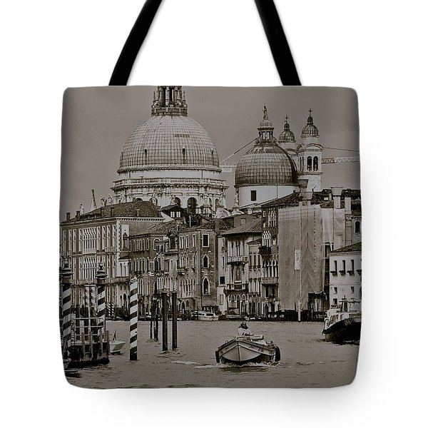 A Slice Of Venice Tote Bag by Eric Tressler