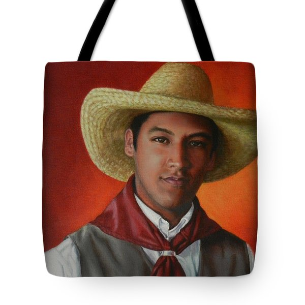 A Smile From The Andes, Peru Impression Tote Bag