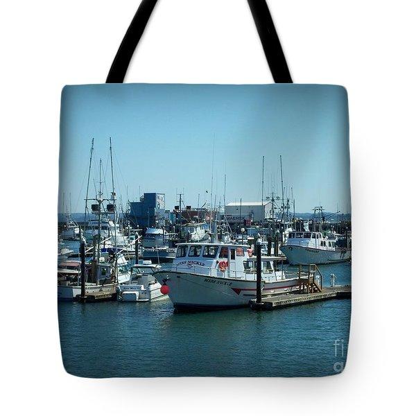 A Sunny Nautical Day Tote Bag
