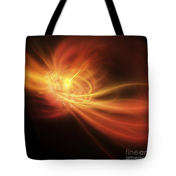 A Supernova Explosion Causes A Bright Tote Bag