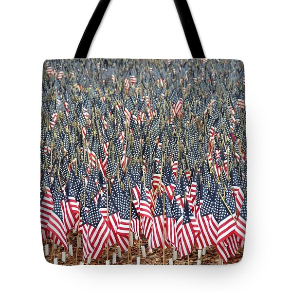 A Thousand Flags Tote Bag