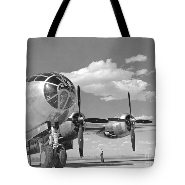A U.s. Army Air Forces B-29 Tote Bag by Stocktrek Images