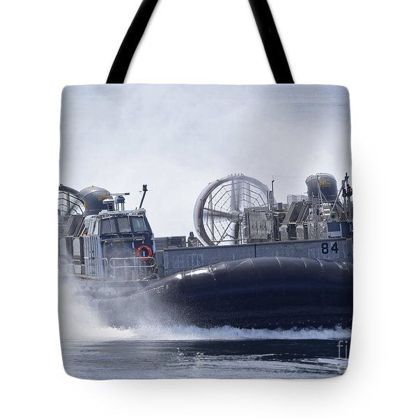 A U.s. Marine Corps Landing Craft Air Tote Bag by Stocktrek Images