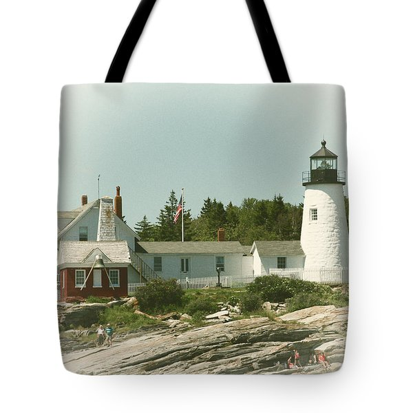 A View From The Water Tote Bag by Karol Livote