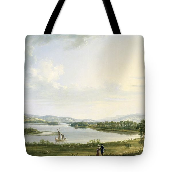 A View Of Knock Ninney And Part Of Lough Erne From Bellisle - County Fermanagh  Tote Bag