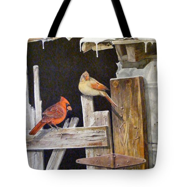 A Visit To Daddy's Barn  Sold Tote Bag