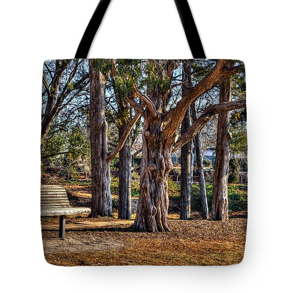 A Walk In The Park Tote Bag by Doug Long