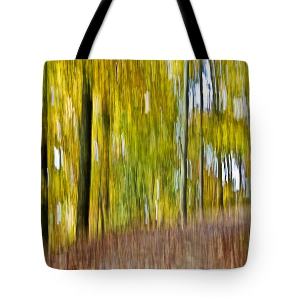 Tote Bag featuring the photograph A Walk In The Woods by Susan Leggett