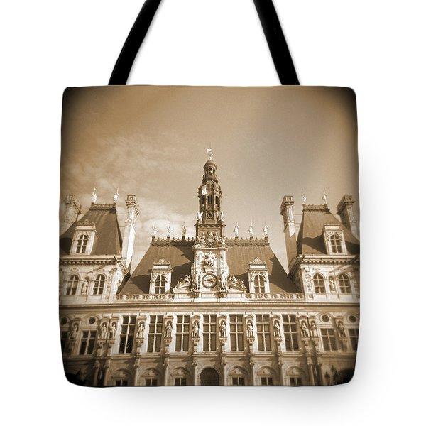 A Walk Through Paris 15 Tote Bag by Mike McGlothlen