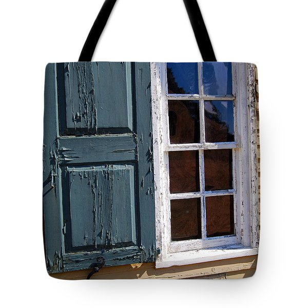 A Window Into The Past Wipp Tote Bag by Jim Brage