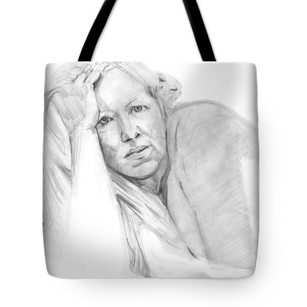 A Working Model  Tote Bag