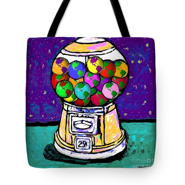 A World Of Gumballs Tote Bag