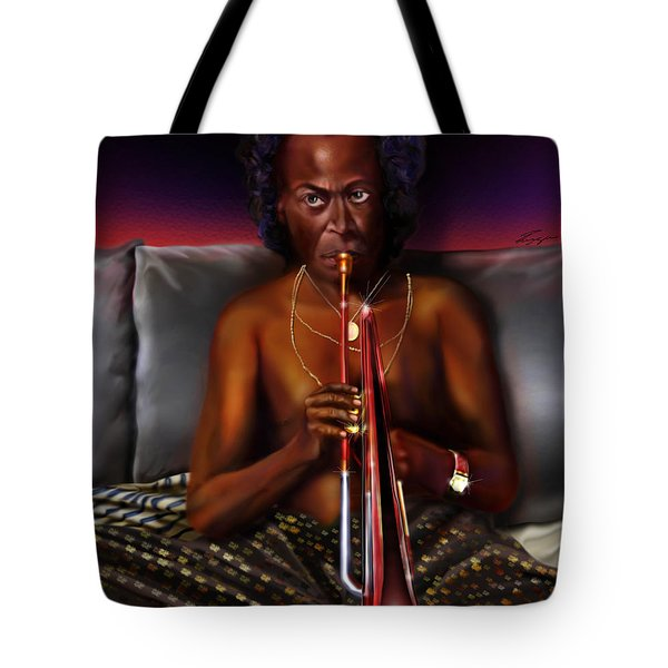 A Zillion Miles From Here Tote Bag by Reggie Duffie