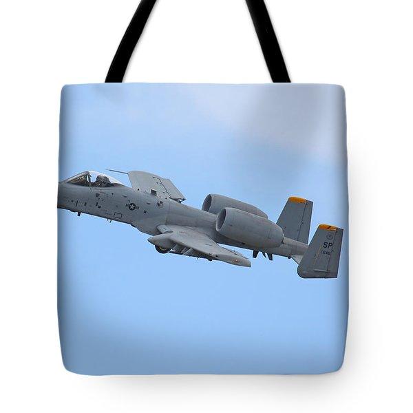 A10 Warthog Tote Bag