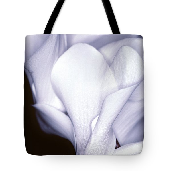 Silky Cyclamen Flowers Tote Bag