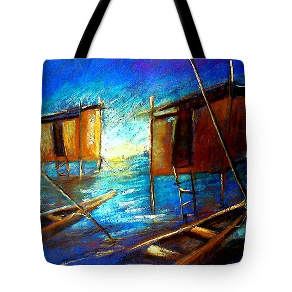 Abandoned At Aleibri Tote Bag