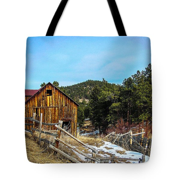 Abandoned Barn Tote Bag by Shannon Harrington