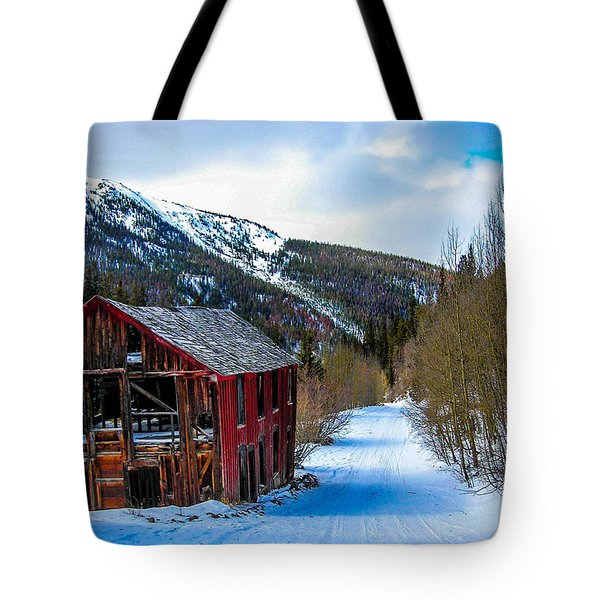 Abandoned Building Tote Bag by Shannon Harrington
