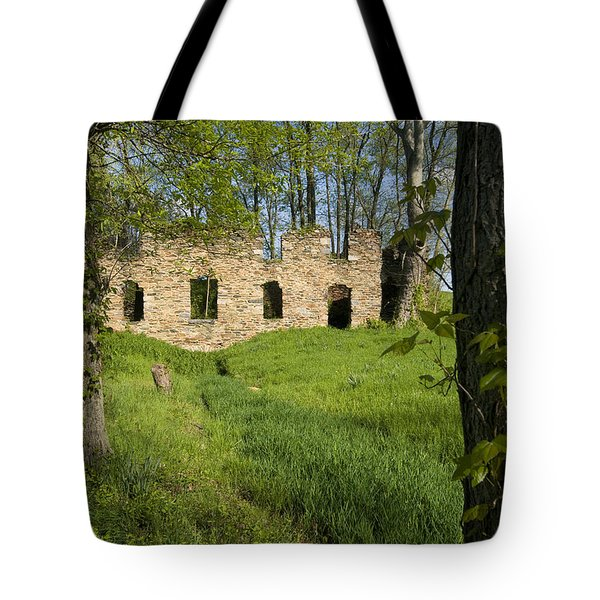 Tote Bag featuring the photograph Abandoned Cider Mill by Jim Moore