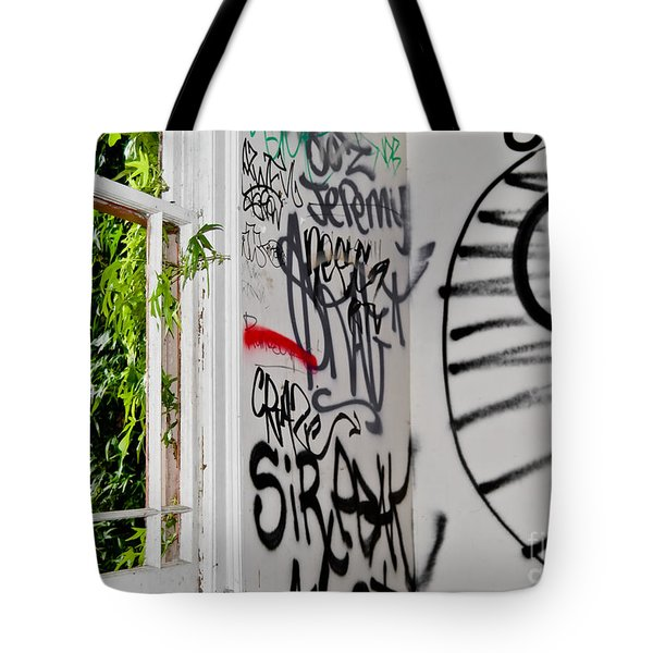 Tote Bag featuring the photograph Abandoned City House by Yurix Sardinelly