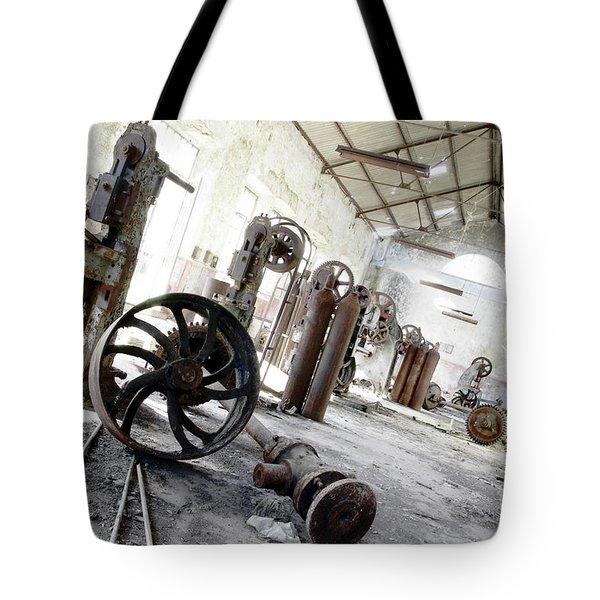 Abandoned Factory Tote Bag by Carlos Caetano