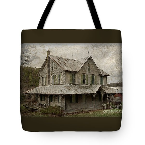 Abandoned Homestead Tote Bag by John Stephens