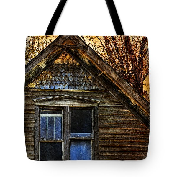 Abandoned Old House Tote Bag by Jill Battaglia