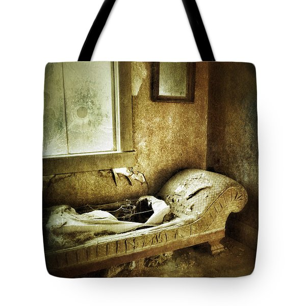 Abandoned Parlor Tote Bag by Jill Battaglia