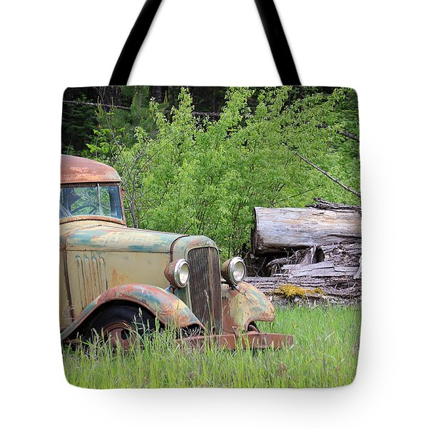 Tote Bag featuring the photograph Abandoned by Steve McKinzie