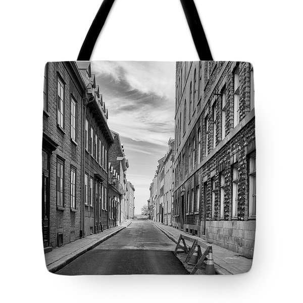 Abandoned Street Tote Bag by Eunice Gibb