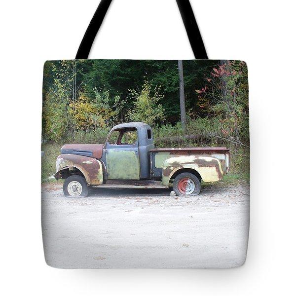 Abandoned Truck Tote Bag by Joe  Burns