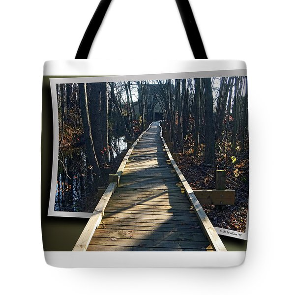 Abbotts Nature Trail Tote Bag by Brian Wallace