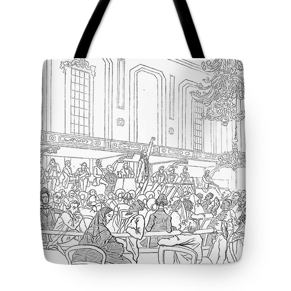 Abolition Cartoon, 1859 Tote Bag by Granger