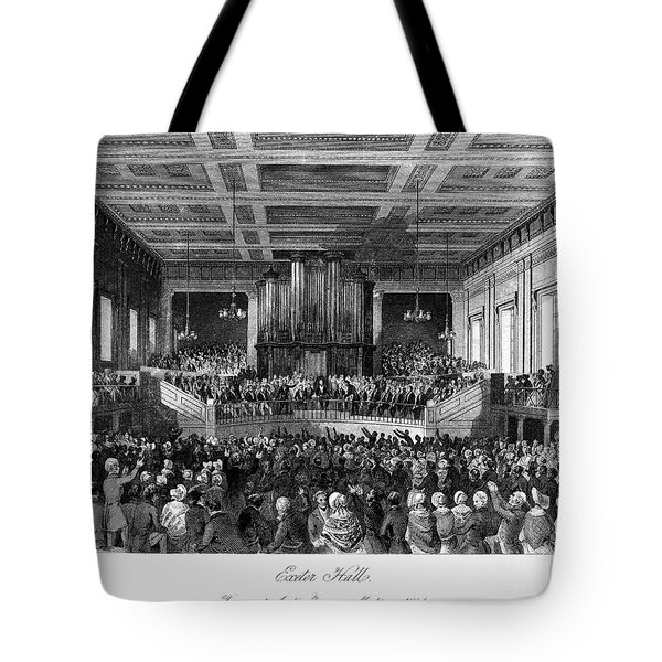 Abolition Convention, 1840 Tote Bag by Granger