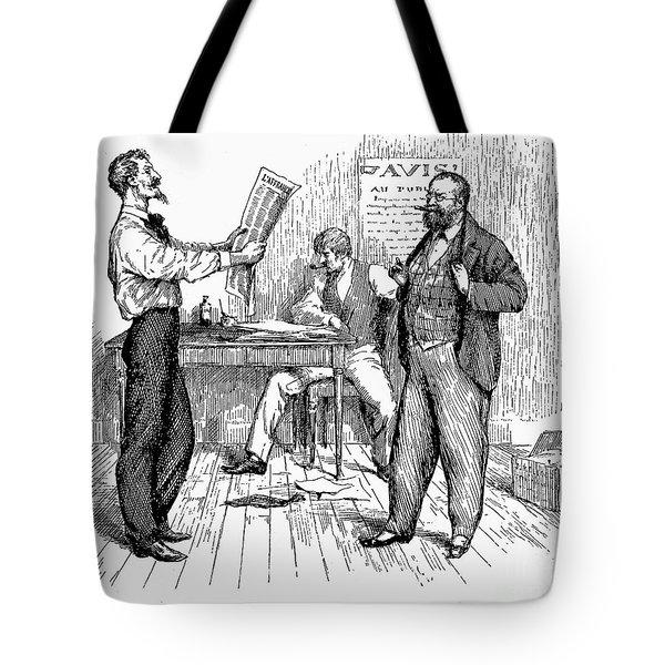 Abolitionist Newspaper Tote Bag by Granger