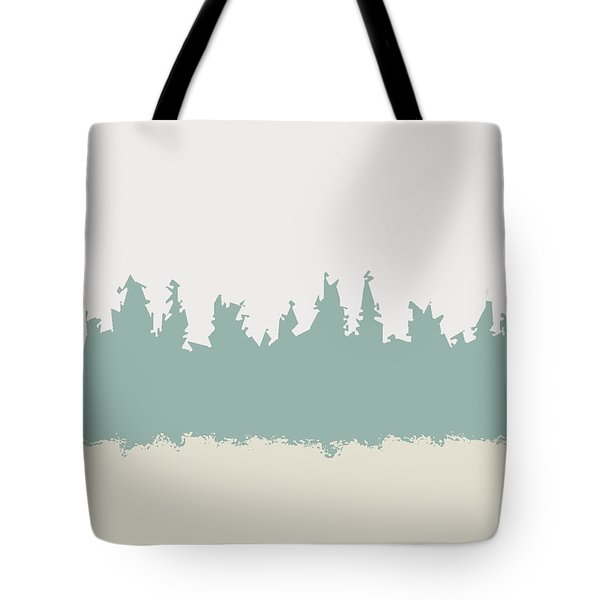 Tote Bag featuring the digital art Above And Below by Jeff Iverson