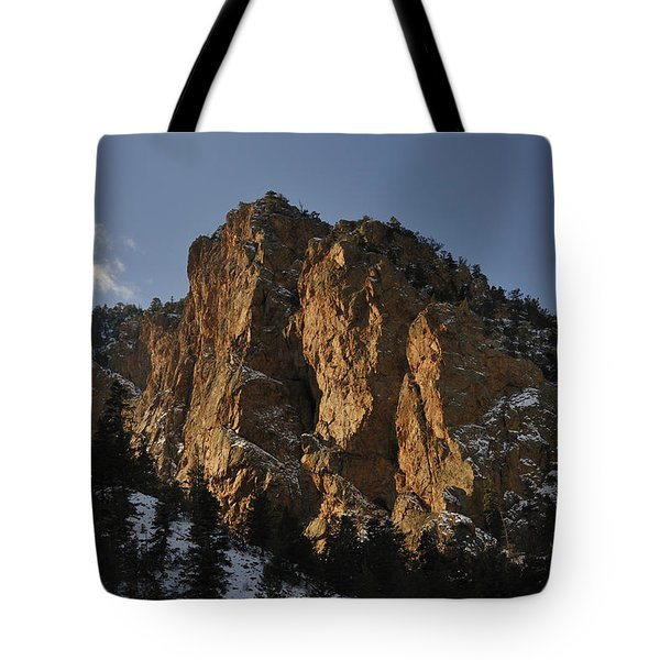 Tote Bag featuring the photograph Above Red River I by Ron Cline