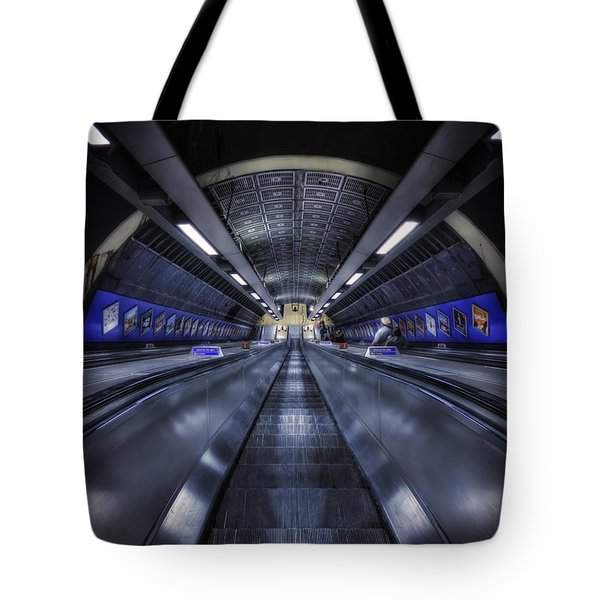 Above The Below Tote Bag by Evelina Kremsdorf
