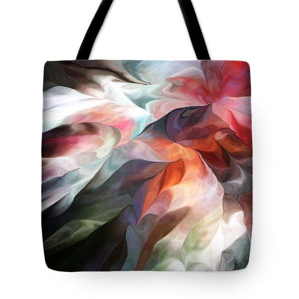 Abstract 062612 Tote Bag by David Lane