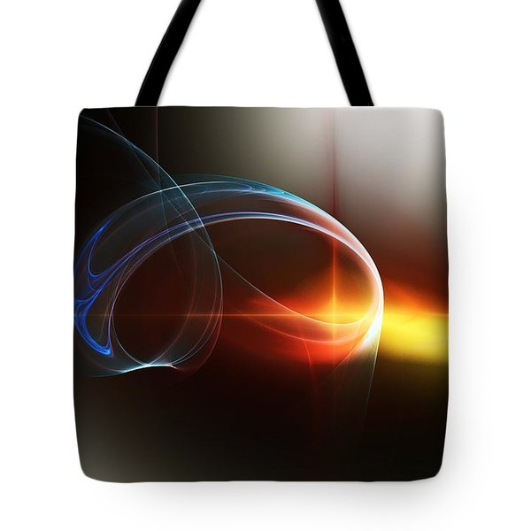 Abstract 101311c Tote Bag by David Lane