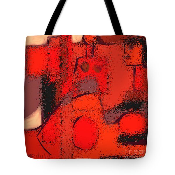 Abstract 463 Tote Bag by Nedunseralathan R