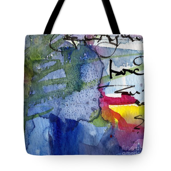 Abstract Alge And Sea Modern Square  Tote Bag