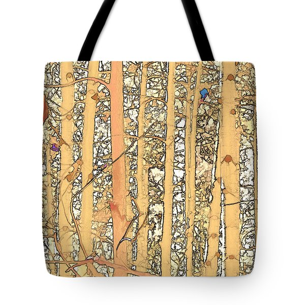 Abstract Aspens Tote Bag