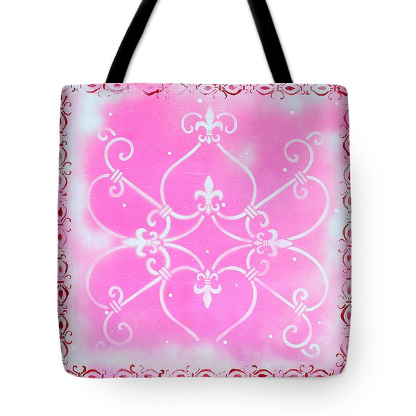 Abstract Decorative Art Original Painting Pink Fantasy By Madart Tote Bag by Megan Duncanson