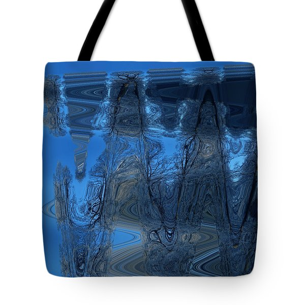 Abstract Flying Trees Tote Bag by Colette V Hera  Guggenheim