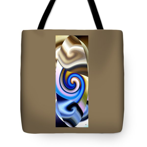 Abstract Fusion 114 Tote Bag by Will Borden