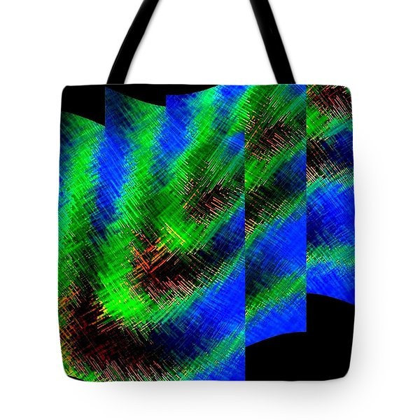 Abstract Fusion 130 Tote Bag by Will Borden