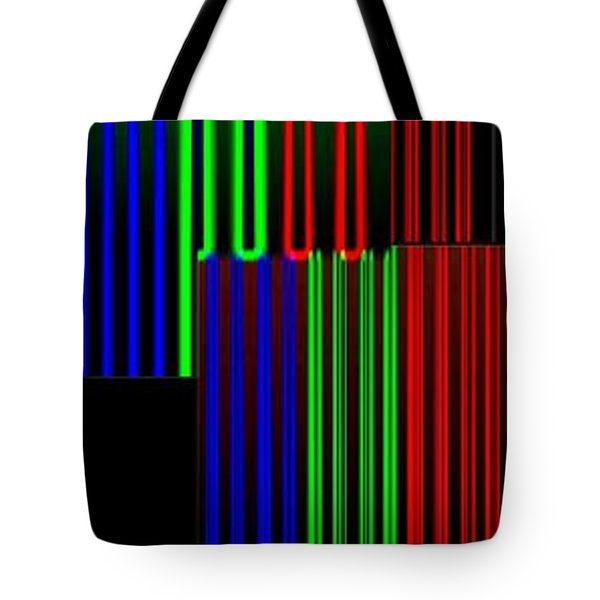 Abstract Fusion 135 Tote Bag by Will Borden