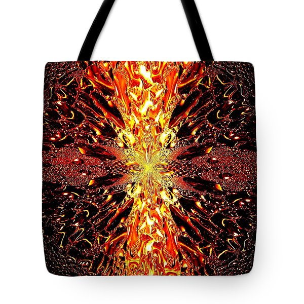 Abstract Fusion 73 Tote Bag by Will Borden
